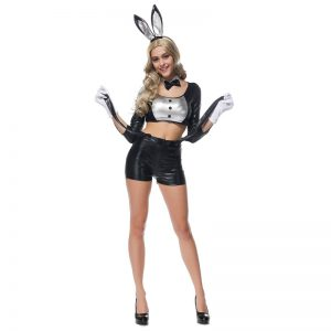 バニーガール コスプレ バニー 衣装 コスプレ 大人 制服 ウサギ セクシー ハロウィン アニマル-Halloween-trw0725-0031