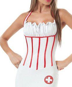 バックレス 看護婦 ナイトクラブ cosplay衣装  コスプレ衣装 医者 コスプレ-Halloween-trw0725-0089