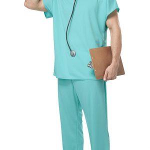 看護婦 医者 カップル コスプレ セクシー  ナイトクラブ ハロウィン コスプレ衣装-Halloween-trw0725-0099