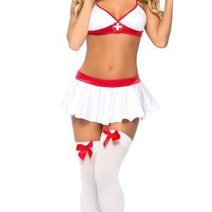 コスプレ ナース コスプレ衣装 ナース服 セクシー 衣装 女性 ハロウィン コスチューム 衣装 レディース 看護婦 医者 女医 白衣 ミニワンピ-Halloween-trw0725-0111