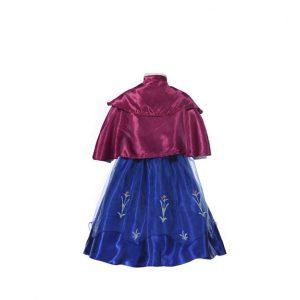 アナと雪の女王 Elsa Anna 子供用 女性用 コスプレ ドレス Disney-Halloween-trw0725-0122