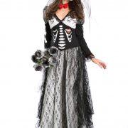 バンパイア ハロウィン 鬼新娘 魔女 プリンセス cosplay ドレス 幽霊 コスチューム衣装 頭蓋骨-Halloween-trw0725-0155 2
