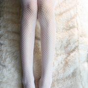 ナース ストッキング 白 赤リボン コスプレ コスチューム コスプレ衣装ガーター ストッキング 網タイツ ガーターベルト-Halloween-trw0725-0165 2