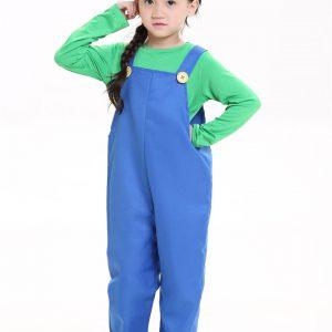 コスプレでゲームの世界へ!スーパーマリオ&ルイージ パーティグッズ キャップ コスプレ 衣装 付け髭 マリオ風 コスチューム cosplay 子供-Halloween-trw0725-0204