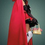 赤ずきんちゃん クリスマス コスプレ 大人用 魔女 コスチューム パーティー 超セクシー/パーティー用 /聖夜パーティー/コスプレ-Halloween-trw0725-0229 2