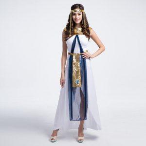華麗なクイーン エジプトの女王 に変身♪ Halloween Costume クイーン 装 ドレス コスプレ-Halloween-trw0725-0232