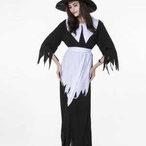 Witch セクシー コスチューム コスプレ衣装 大人用 cosplay ハロウィン 仮装 女性-Halloween-trw0725-0298