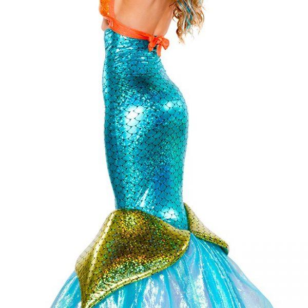 コスプレ 衣装 ハロウイン 仮装 ドレス ワンピース 人魚姫 リトル・マーメイド コスチューム-Halloween-trw0725-0308