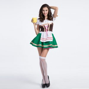Beerオクトーバーフェスト メイド コスプレ ハロウィン cosplay -Halloween-trw0725-0315