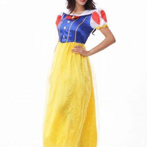 cosplay ハロウィン ドレス  ホワイト 雪プリンセス 仮装パーティー 白雪姫 セクシー コスプレ衣装-Halloween-trw0725-0337