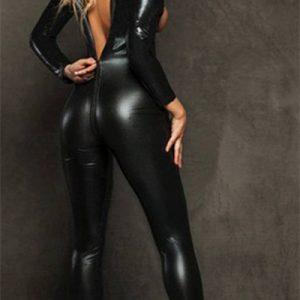 ジャンプスーツ コスプレやハロウィンに全身タイツ!女王様 コスプレ 衣装-Halloween-trw0725-0366