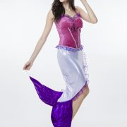 ディズニー マーメイド ゲームの服 Mermaid Costumes ハロウィン 人?プリンセス-Halloween-trw0725-0416 2