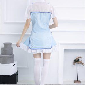 チャイナドレス ミニ チャイナ コスプレ 衣装 チャイナ服 ハロウィン パーティドレス 可愛い -Halloween-trw0725-0426