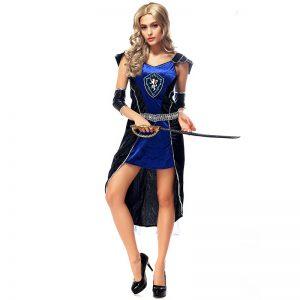 ハロウィン 衣装 ギリシャの女神 グラディエーター戦士の衣装に変身♪ 女海賊 パイレーツ コスチューム 衣装 ハロウィン コスプレ女性 大人用-Halloween-trw0725-0428