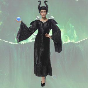マレフィセント 眠れる森の美女 ディズニー 魔女 大人 女性用 セクシー コスチューム コスプレ Leg Avenue レッグアベニュー アンジェリーナジョリー Disney オーロラ姫 ハロウィン -Halloween-trw0725-0443