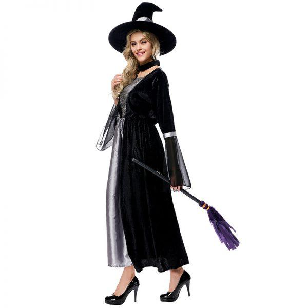 コスチューム ヴァンパイア 衣装 魔女 仮装 デビル ウィッチ 変装 万聖節 レデイース ハロウィン コスプレ衣装 舞台演出服-Halloween-trw0725-0478