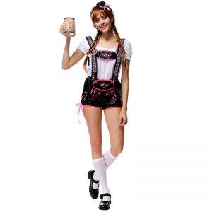 ハロウィン ビールガール ドイツ メイド 民族衣装 コスプレ衣装-Halloween-trw0725-0499