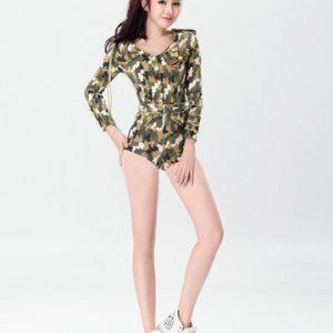 高品質 制服 軍服 迷彩 女警官 ハロウィン cosplay 舞台演出服 コスプレ衣装-Halloween-trw0725-0507