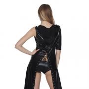 エナメルバラックのマーメイドドレス セクシーコスチューム 艶めかしい―9taitsu0055 3