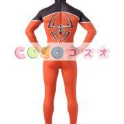 全身タイツ オレンジ色 大人用 ユニセックス スパイダーマン ―taitsu-tights1052 3