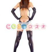 コスチューム衣装 セクシー オーダーメイド可能 メタリック ブラック―taitsu-tights0130 3