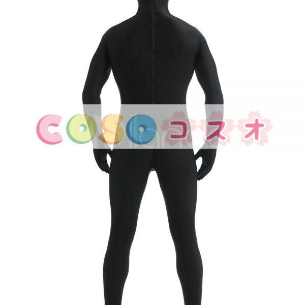ユニセックス黒ライクラ スパンデックス全身タイツ スーツ―taitsu-tights0480