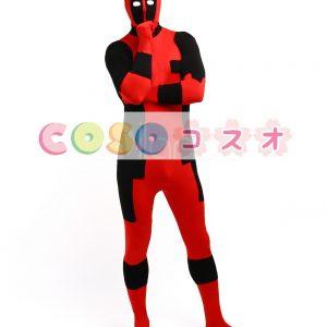 全身タイツ シューパー・ヒーロー風 ハロウィン コスチューム衣装―taitsu-tights0379