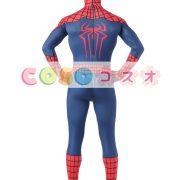 全身タイツ ブルー 大人用 ユニセックス スパイダーマン ―taitsu-tights0927 3
