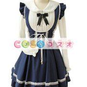 ジャンパースカート ロリィタ服 レースアップ カジュアル スウィート ―Lolita0002 3