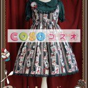 ロリータ服 OP ワンピース ウサギ柄 ロリータファッション ―Lolita0013 3