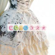 ロリィタワンピース チャイナドレス 長袖 チャイナインク 龍 ―Lolita0017 3
