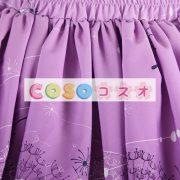 グレープ ショットスカート ロリィタスカート サロペットスカート タンポポ プリント ―Lolita0159 3