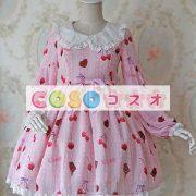 かわいい長袖弓シフォン ロリータ ワンピース ―Lolita0245 2