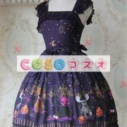 甘い弓シフォン カントリーロリータ ドレス ―Lolita0266 3