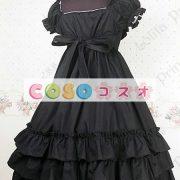 甘いスクエア ネック ピュア コットン カントリーロリータ ドレスをフリルします。 ―Lolita0297 3