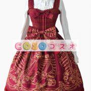 Liebesgruss 花柄プリント ジャンパー スカート スカート ―Lolita0303 3