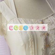 女性の白いフリルの付いたシフォン カントリーロリータ ドレス ―Lolita0427 3