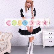 コットンワンピース ロリィタワンピース メイド 白いエプロン 半袖 ―Lolita0892 3