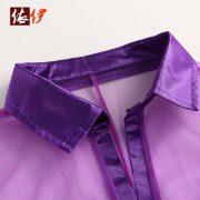 誘惑 シャツ 透明な スパンデックス セミシアー(半透明) インドア 女性用 -halloween-trz0725-0271 3