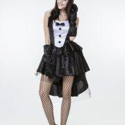 コスプレ 燕尾 バニーガール ウサギ うさ耳  ハロウィン メイド服-Halloween-trw0725-0029 3