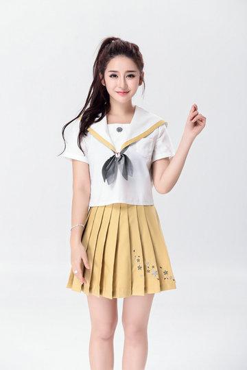 【ハロウィン】セーラー服 コスプレ 制服 女子高生 ブレザー ハロウィン-Halloween-trw0725-0067