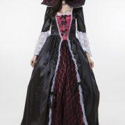 Vampire Costumes ハロウィン コスチューム 悪魔 吸血鬼 ヴァンパイア 鬼魔女 巫女 大人用 パーティー服-Halloween-trw0725-0313 3