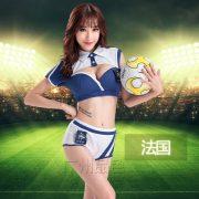 サッカー 応援団 チアガール 舞台演出服  ステージ衣装 新作-Halloween-trw0725-0368 3