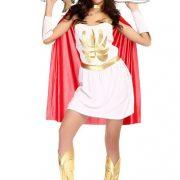エジプト 戦士 女性 Greek Goddess  ハロウィン cosplay ゲームの服 コスプレ-Halloween-trw0725-0386 3