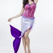 ディズニー マーメイド ゲームの服 Mermaid Costumes ハロウィン 人?プリンセス-Halloween-trw0725-0416 3