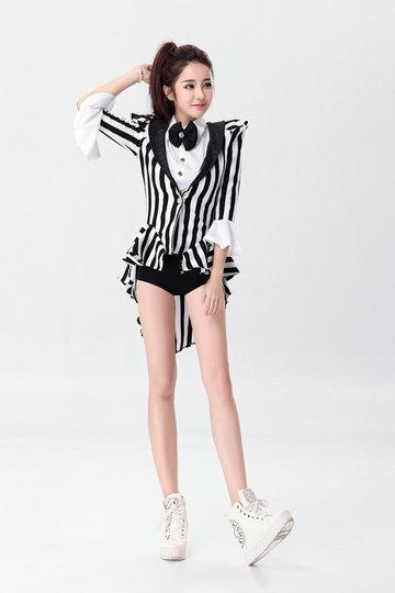 マジシャン/ ジャズダンス/制服 パーティー服 コスチューム ハロウィン仮装-Halloween-trw0725-0432