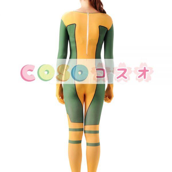 全身タイツ イエロー 大人用 ユニセックス スーパーヒーロー ―taitsu-tights1355