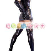 コスチューム衣装 メタリック セクシー オーダーメイド可能 ブラック ―taitsu-tights0411 4