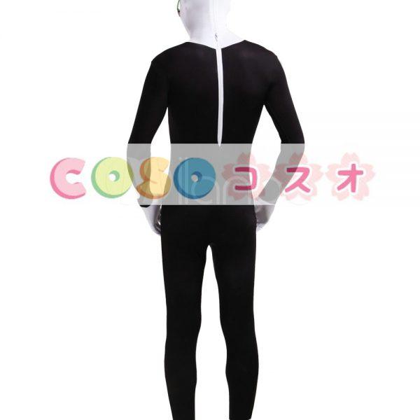 全身タイツ カラーブロック 大人用 開口部のない オーダーメイド可能 コスチューム ―taitsu-tights0789