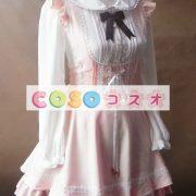 ジャンパースカート ロリィタ服 レースアップ カジュアル スウィート ―Lolita0002 4